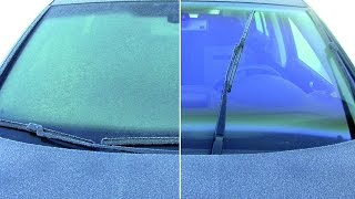 видео Не надо прогревать автомобиль зимой!