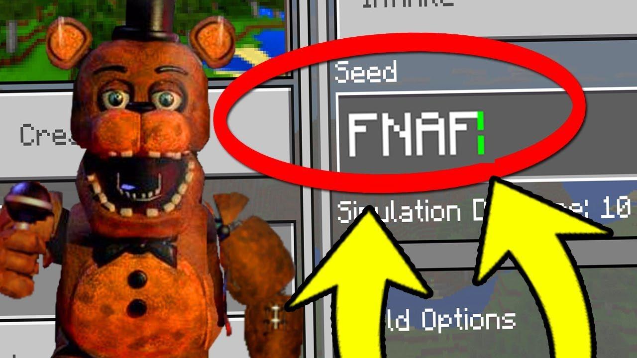 fnaf minecraft seed