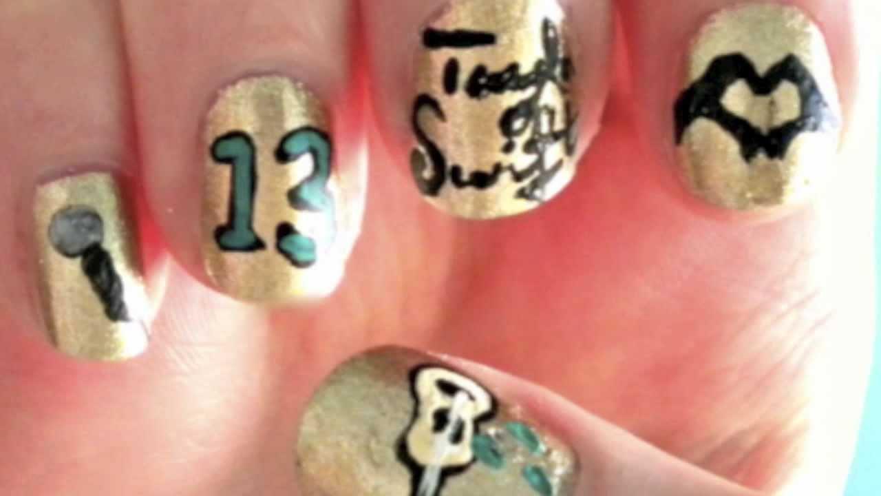 Taylor Swift Nails