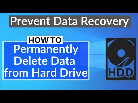 How To Wipe A Hard Drive | Erase Everything On Computer Hard Drive