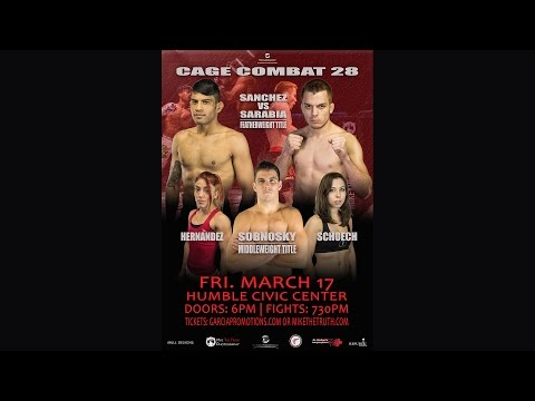 Cage Combat 28 - Charles Lasley vs Kyle Roberts