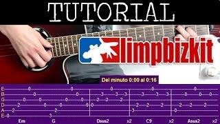 Cómo tocar Behind Blue Eyes de Limp Bizkit (Tutorial de Guitarra) / how to play