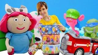 Игры для детей Капуки Кануки: Шоколадные шары ЧУПА ЧУПС