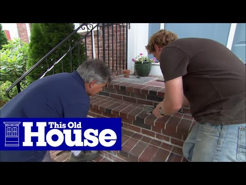 How To Repoint Brick Steps This Old House Youtube