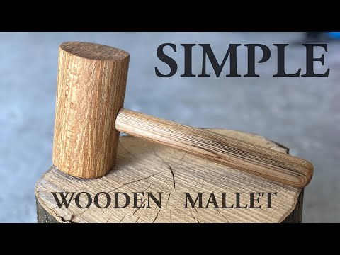 How To Make A Wooden Mallet