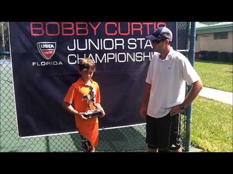 2013 Bobby Curtis USTA Florida Junior State Championships (Orange Ball) Interview w/Filip