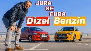 Novi Peugeot 208! Dizel ili benzin? - Jura se fura