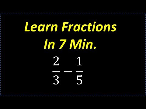 Download Learn Fractions In 7 min ( Fast Review on How To Deal With Fractions) Mp4 baru
