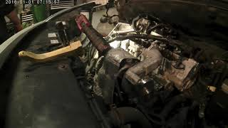 1.6 8v dv6 (1.6 hdi) oil leak, injector  clamps , and timing belt