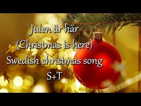Julen är här - Swedish Christmas song (Subs+trans)