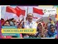 Asian Games 2018 - Torch Relay Recap (Bandar Lampung)