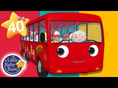 Wheels On The Bus  Part 18  + More Nursery Rhymes & Kids Songs  Songs for Kids  Little Ba Bum