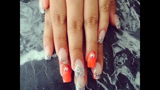 How to: Quinceañera nails