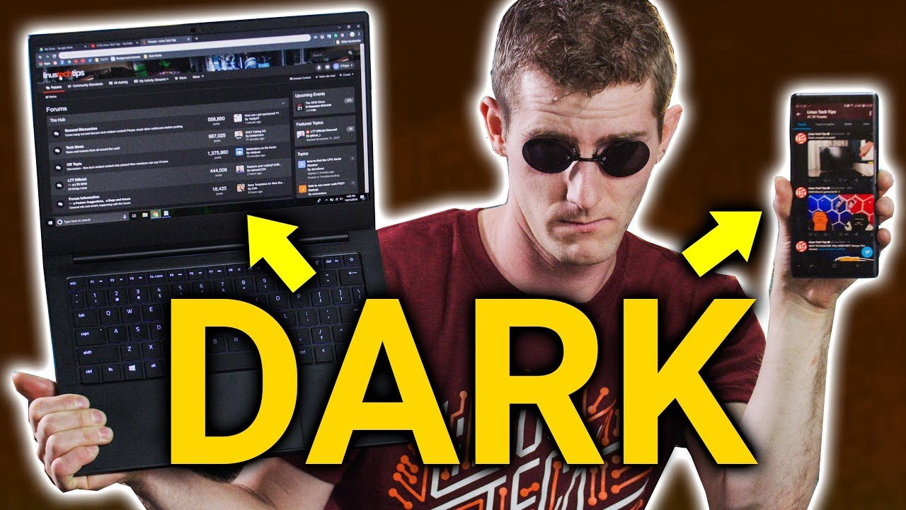 Dark Mode YOUR LIFE...