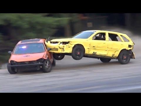 Car Wars Destruction Highlights @Beech Ridge pt.2 2019
