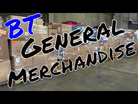 BT Department Store Return General Merchandise Loads