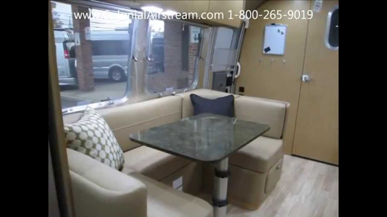Airstream Travel Trailer >> Front Bedroom 23' 2015 Airstream Flying Cloud 23FB Travel Trailer For Sale - YouTube