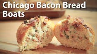 Chicago Bacon Bread Boat Recipe