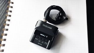 Tascam DR-10L Portable Audio Recorder Review for Wedding Filmmakers