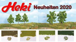Heki 2174 Lärchen 7 Stück 7-11 cm Fabrikneu
