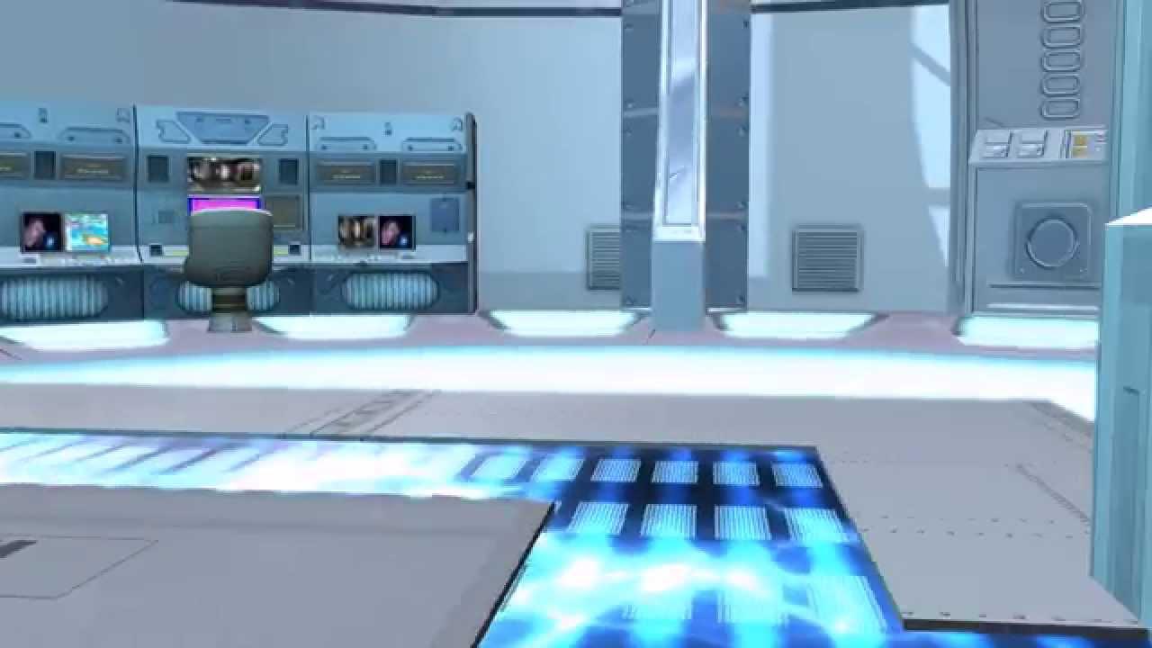 Interior De Ventana De Nave Espacial: Interior Del Set De Nave Espacial