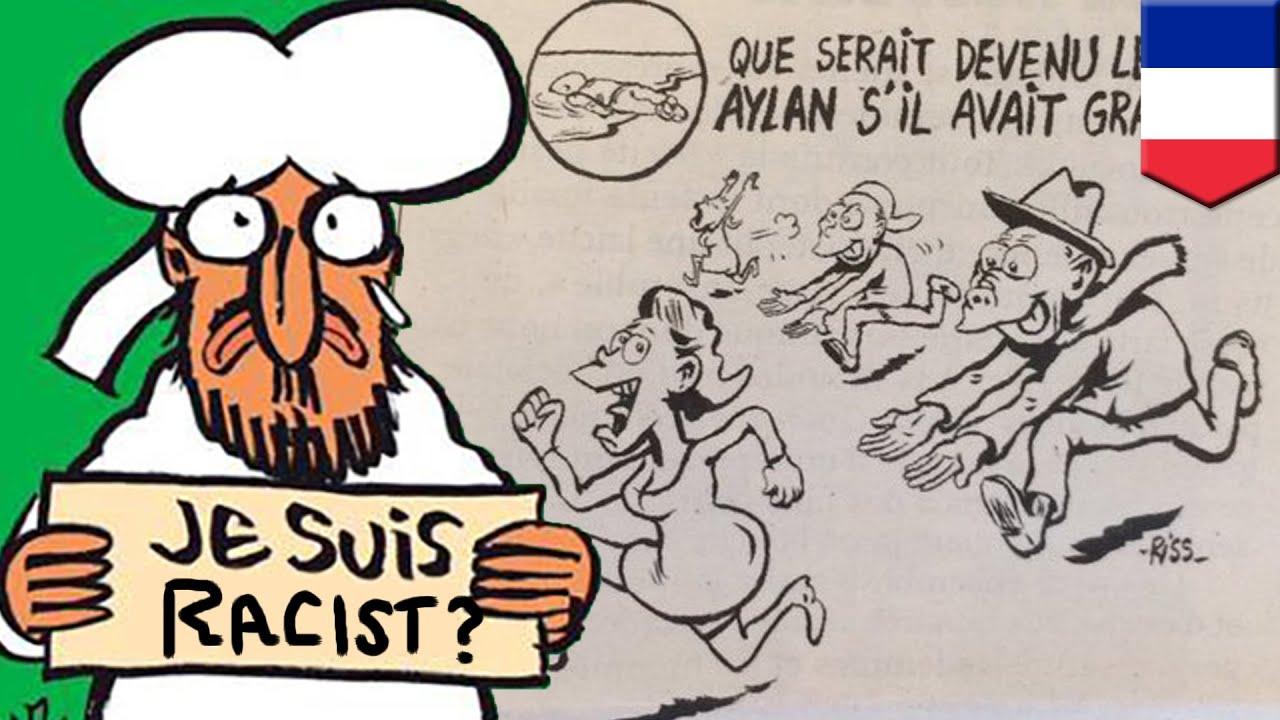 Charlie Hebdo cartoon of Syrian refugee Aylan Kurdi sparks online debates -  TomoNews