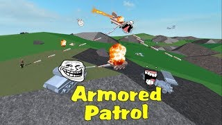 THIS GAME IS SO LAGGY!!!!!! | Roblox Armoured Patrol