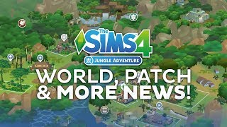 The Sims 4 Jungle Adventure News: World Overview, Upcoming Update and MORE!