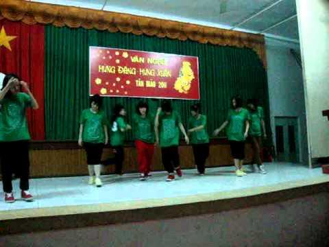 tốp hiphop Hồng Hạnh lớp 35AN CDSP Vĩnh Long