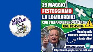 Conferenza Lega Giovani Lombardia - Stefano Bruno Galli