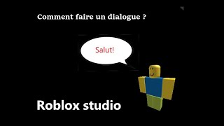 (Tutorial) How do I make a dialogue? Roblox Studio
