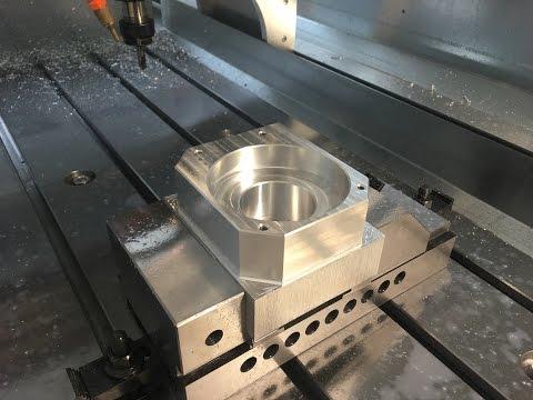 Epoxi granite filled DIY CNC high speed milling, manual edge finder, auto tool zero