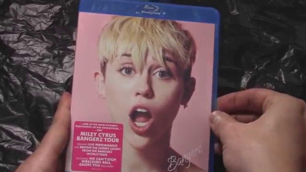 Miley Cyrus Bangerz Tour Merch