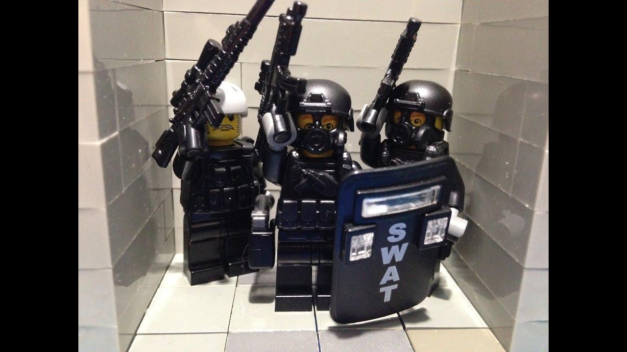 Lego Swat Bank Heist Youtube