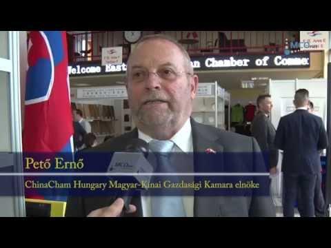 Pető Ernő interjú / Sanghaji Export-Import Kamara 2015.07.20.