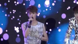 [HD]120401 EXO China Showcase - Angel Luhan focus