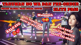 Download Mp3 PRANK GLOBAL FF PAKE SUARA PEREMPUAN NYAMAR JADI CEWEK TARUHAN NO WA DAN FRE ORDER ELITE PASS