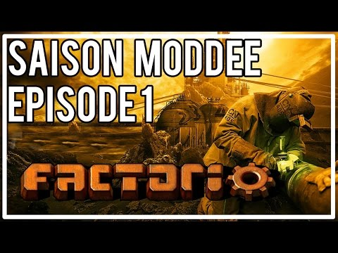FACTORIO moddé - Episode 1 : Découverte du modpack !