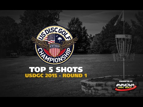 USDGC 2015 Wednesday Top 5 Shots presented by Innova Discs