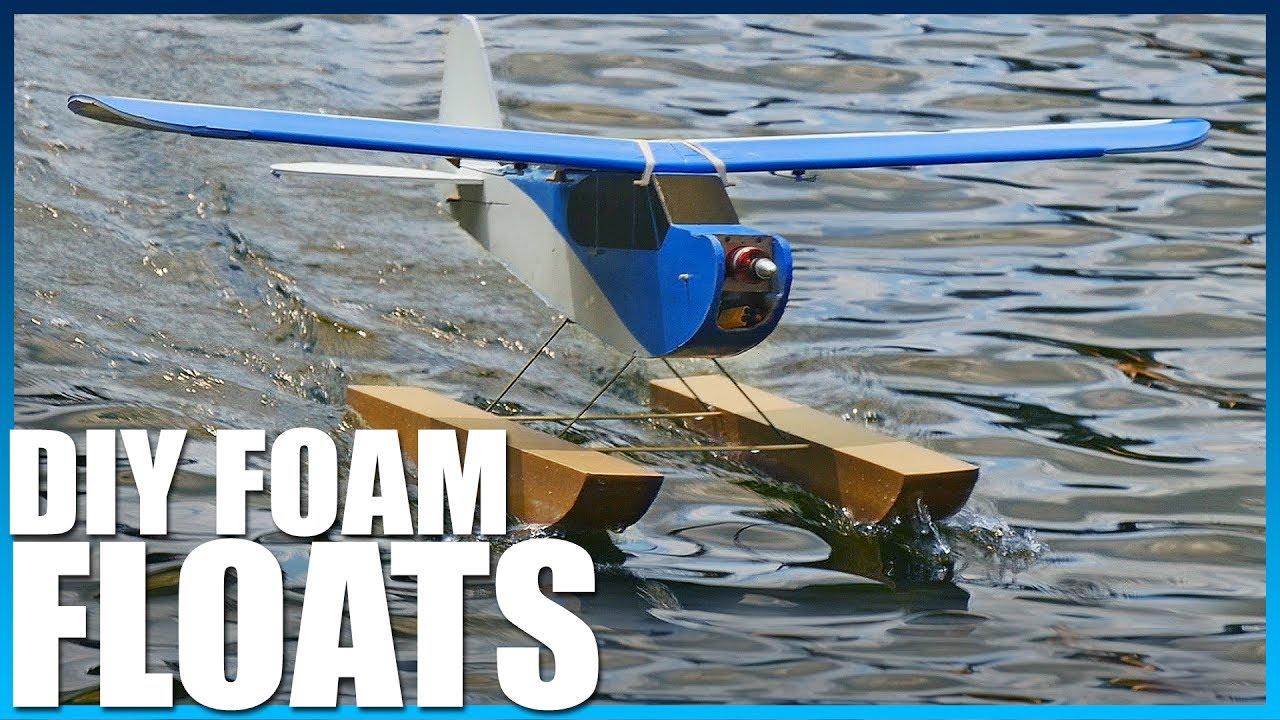 DIY Waterproof Plane Floats   Flite Test
