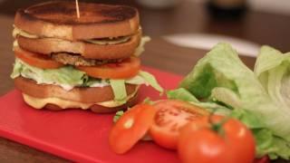 Vegan Grilled Cheese Sandwich Recipe - Friendlys Grilled Cheese Burger Melt