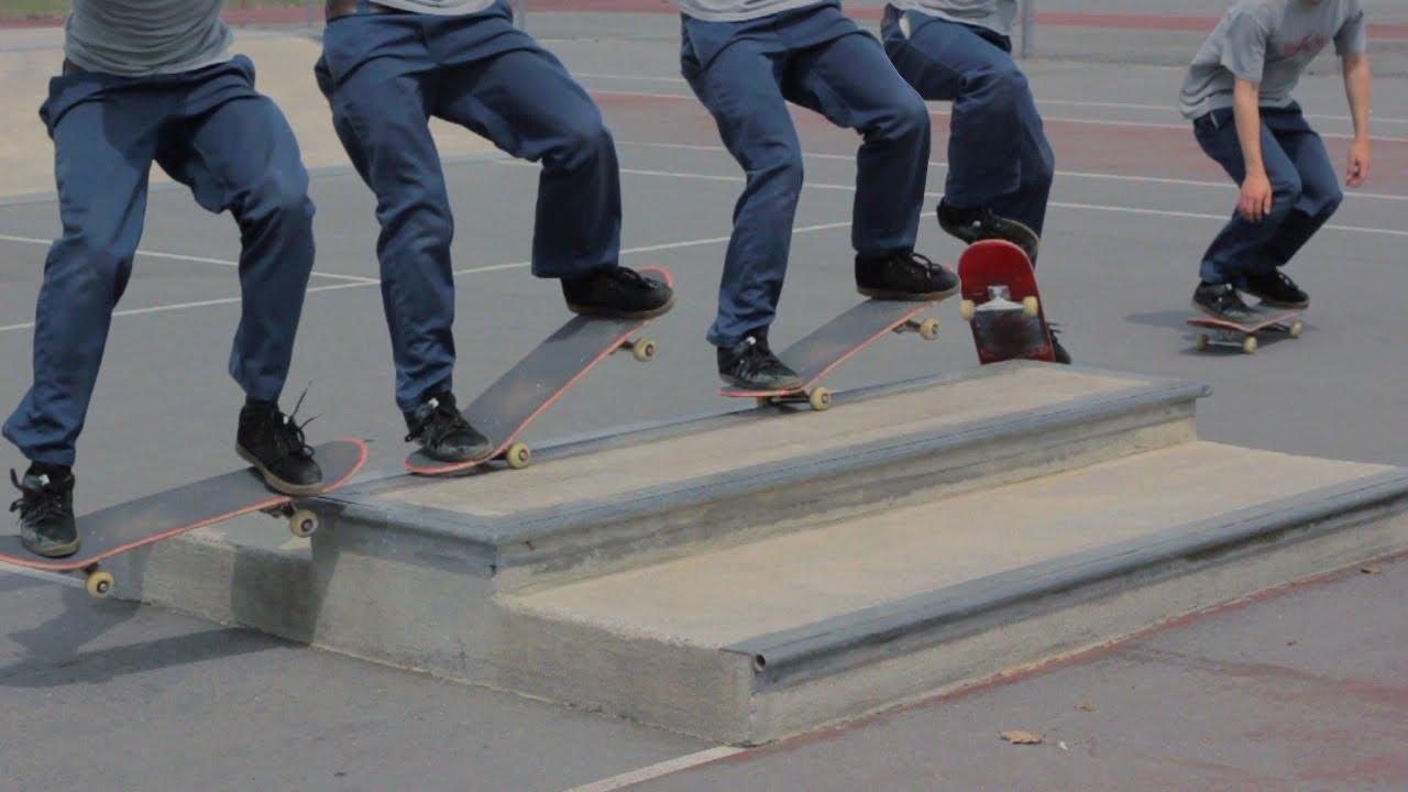 How To NOSEGRIND Trick Tip - Easy Beginner Skateboard ...