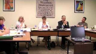 Pleasantdale School Board Meeting 05-20-2009 Part 10 of 17