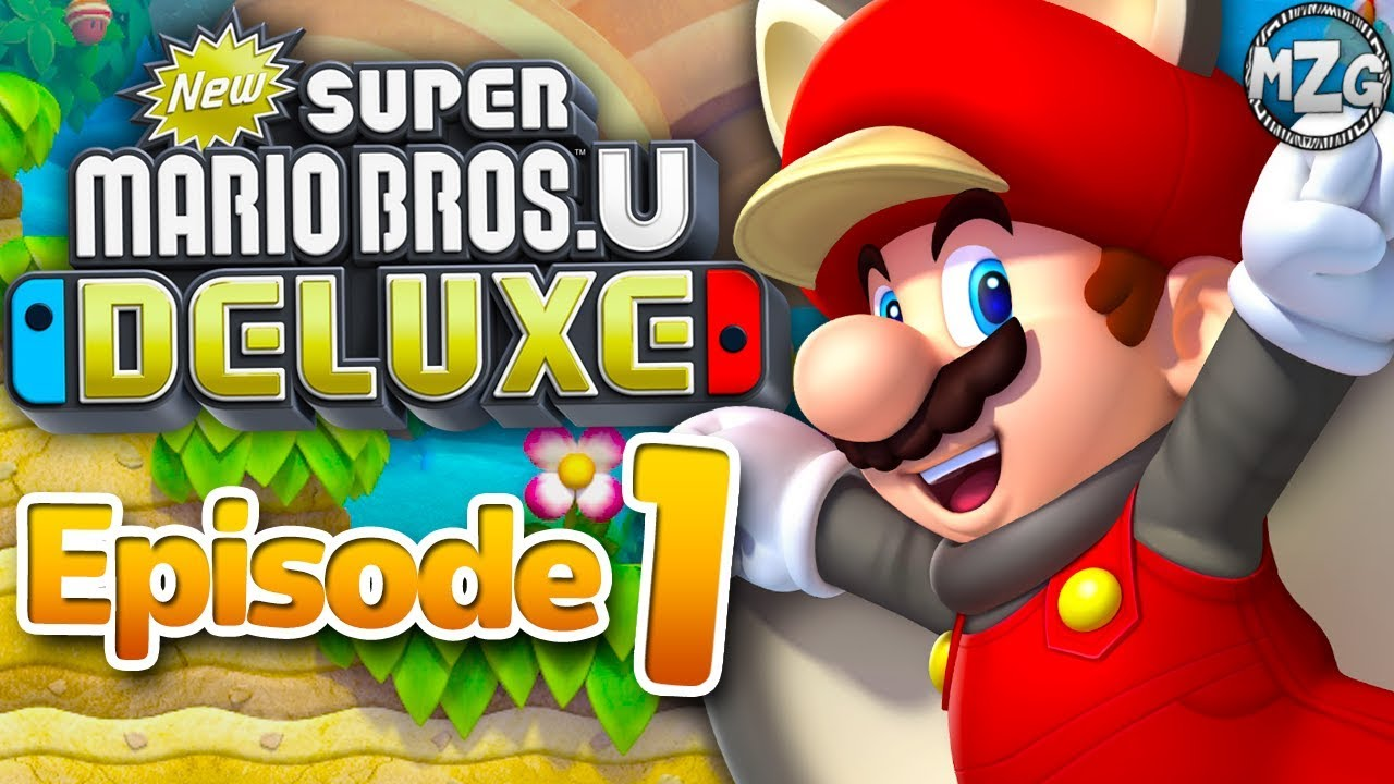 New Super Mario Bros U Deluxe Gameplay Walkthrough Episode 1