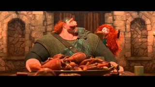 "Brave Movie Clip ""Fergus Shares A Legend"" Official 2012 [1080 HD]"