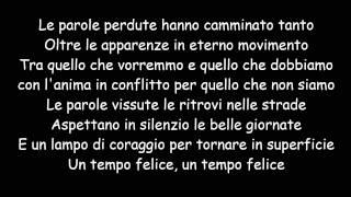 Le Parole Perdute - Fiorella Mannoia (Testo)