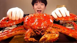 MUKBANG★🦀GIANT RED KING CRAB 3KG!!★SEAFOOD REAL SOUND EATING SHOW [SIO ASMR]