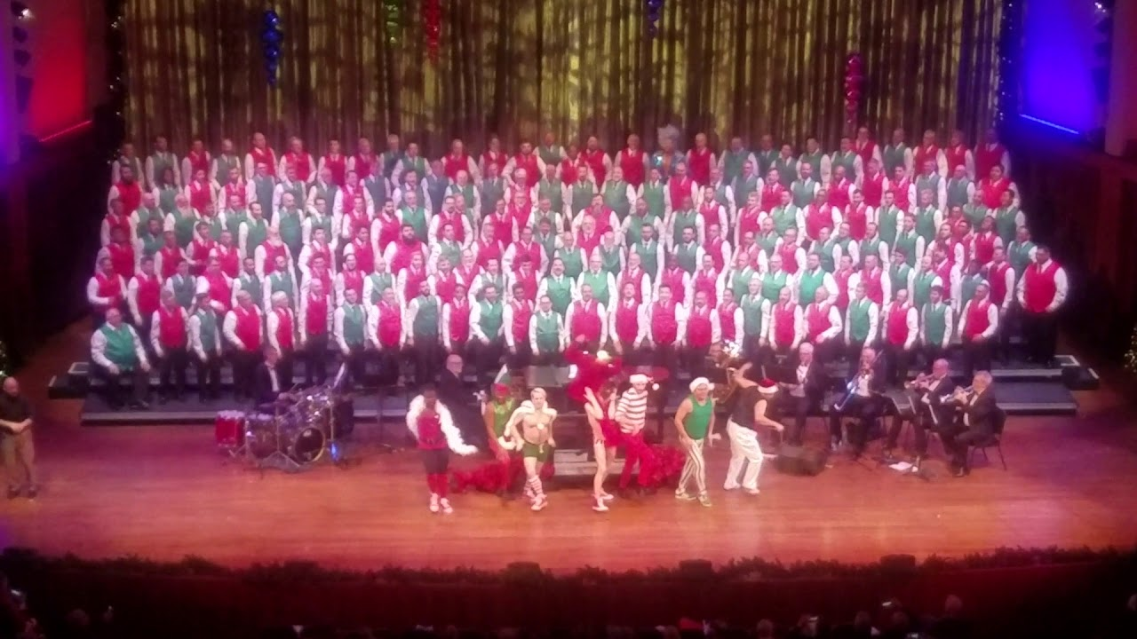 2017 Christmas Show - Seattle Mens Chorus - YouTube