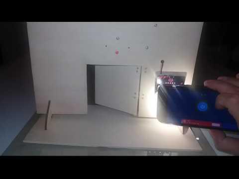 BBC micro:bit project - Energy save door