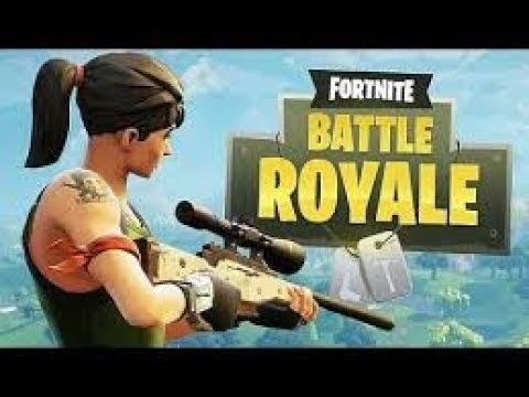 Ma première game Fortnite Battle Royale !!